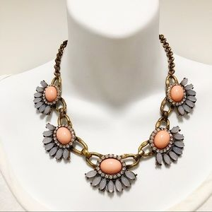 J. CREW Mixed Gem Statement Necklace